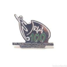 Pins de colección: PIN CENTENARIO REAL FEDERACIÓN ANDALUZA DE FUTBOL 1915-2015. Lote 218600548