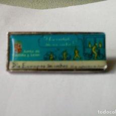 Pins de colección: PIN ANTIGUO DIA EUROPEO SIN COCHES AÑO 2000 VALLADOLID. Lote 218609797