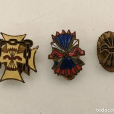 Pins de colección: 3 PIN OJAL DE LA FALANGE. Lote 218885141