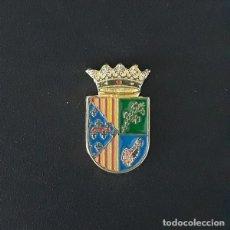 Pins de colección: PIN ESCUDO JERESA (VALENCIA). Lote 218905633
