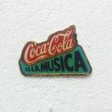 Pins de colección: PIN COCA COLA ES LA MUSICA. Lote 219260381