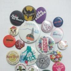 Pins de colección: LOTE DE CHAPAS VARIAS. Lote 219270892