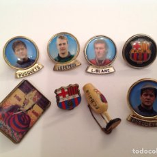 Pin's de collection: LOTE PINS FÚTBOL CLUB BARCELONA. Lote 219725980