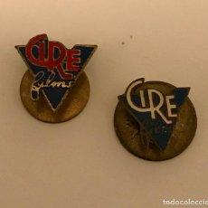 Pin's de collection: LOTE 2 ANTIGUA INSIGNIA PIN DISTRIBUIDORA CINEMATOGRÀFICA CIRE FILMS 1942-1982. Lote 221132055