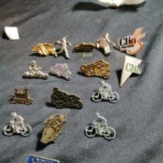 Pins de colección: LOTE DE PINS ANTIGUOS. Lote 221320665