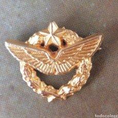 Pins de colección: EJERCICIO DEL AIRE FRANCIA PIN DORADO. Lote 221485322