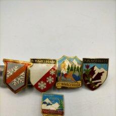 Pins de colección: PIN DE AGUJA ESMALTADOS NAVACERRADA.. Lote 221645746