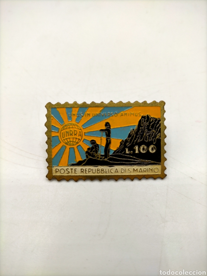 Pins de colección: Pin de aguja esmaltados. República póster republicanos. - Foto 2 - 221646771