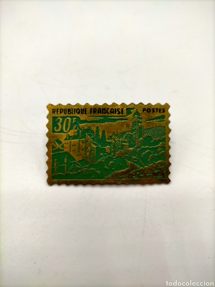 Pins de colección: Pin de aguja esmaltados. República póster republicanos. - Foto 4 - 221646771