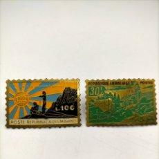 Pins de colección: PIN DE AGUJA ESMALTADOS. REPÚBLICA PÓSTER REPUBLICANOS.. Lote 221646771