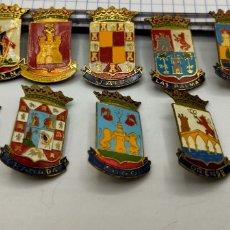 Pins de colección: PIN DE AGUJA ESMALTADOS DE PROVINCIAS ESCUDOS HERÁLDICOS.. Lote 221648688