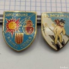 Pins de colección: PIN DE AGUJA ESMALTADOS LA MOLINA.. Lote 221649203