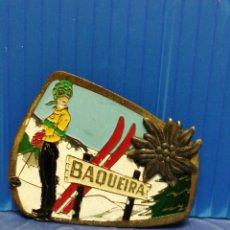Pins de colección: PIN AGUJA BAQUEIRA MUY ANTIGUO DE BUEN TAMAÑO. Lote 221770611