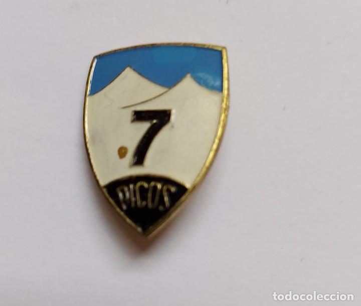 Pins de colección: ANTIGUO Y PRECIOSO PIN INSIGNIA DE ESQUI SKI - 7 PICOS - SIERRA DE GUADARRAMA - CERCEDILLA - - Foto 2 - 221805355