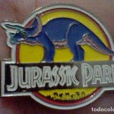 Pins de colección: JURASSIC PARK PIN PINCHO PINTVRA LACADA 3 CMS LARGO DINOSAURIOS *+. Lote 221822982