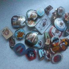 Pins de colección: FALLAS DE VALENCIA. LOTE DE 27 INSIGNIAS. Lote 221949821