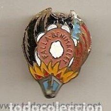 Pins de colección: FALLAS DE VALENCIA: ANTIGUA INSIGNIA ESMALTADA DE FALLA BENIMACLET. Lote 221963151
