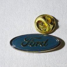 Pins de colección: PIN DE COCHES MOTOS. ESCUDO LOGO MARCA FORD. Lote 221966475