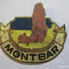 Pins de colección: MONTBAR-INSIGNIA PIN DE TAMAÑO MAS GRANDE DE LO HABITUAL-VER FOTOS-(K-812). Lote 221966675