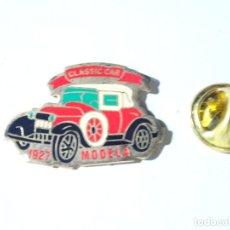 Pins de colección: PIN DE COCHES MOTOS. COCHE MODELA DE 1927. Lote 221966777