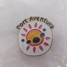 Pins de colección: PIN PORT AVENTURA. LOGO DEL PARQUE SIN USO. Lote 221973273