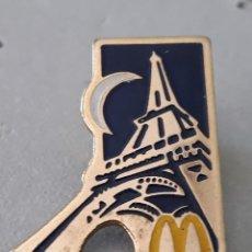 Pins de colección: PIN - MC DONALDS - PARIS - FRANCIA - PUBLICIDAD - NUEVO. Lote 221973633