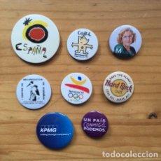 Pins de colección: 8 PINS CHAPA, TIPO BROCHE.. Lote 222014815