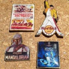 Pins de colección: LOTE LOTAZO 4 PINS MIRA FOTOS !!!. Lote 222015881