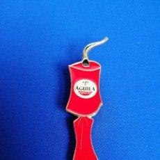 Pins de colección: PIN CERVEZA AGUILA -MASCLET FALLAS. Lote 222293721