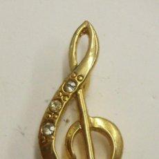 Pins de colección: PIN NOTA MUSICAL. Lote 222654492