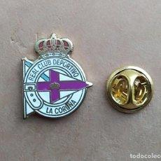 Pins de coleção: PIN FUTBOL - ESMALTE - ESCUDO EQUIPO DE FUTBOL - REAL CLUB DEPORTIVO DE LA CORUÑA. Lote 222710831