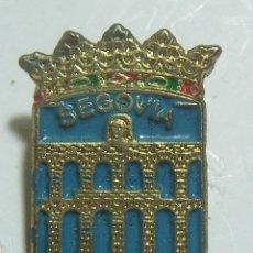 Pins de colección: PIN DE SEGOVIA. Lote 223033677