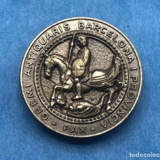 Pin's de collection: GREMI ANTIQUARIS BARCELONA I PROVÍNCIA GREMIO ANTICUARIOS INSIGNIA DE SOLAPA OJAL PIN. Lote 223607686