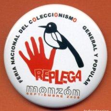 Pins de colección: PIN - REPLEGA 2008. Lote 224499713