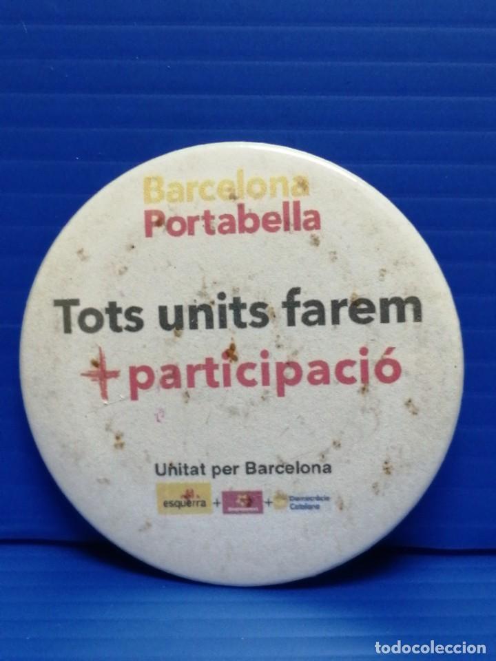 PIN CHAPA PORTAVELLA BARCELONA (Coleccionismo - Pins)