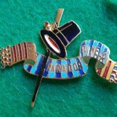 Pins de colección: INSIGNIA PIN ESMALTADO DE FALLERO FALLA PARADOR SO NELO 1961. Lote 226571615