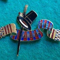 Pins de colección: INSIGNIA PIN ESMALTADO DE FALLERO FALLA PARADOR SO NELO 1961. Lote 226572020