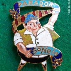 Pins de colección: INSIGNIA PIN ESMALTADO DE FALLERO FALLA PARADOR SO NELO 1960'S. Lote 226573590