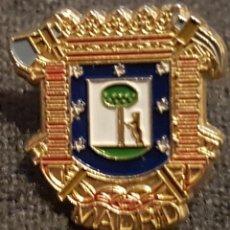 Pins de colección: PIN ESCUDO CIUDAD DE MADRID. AÑOS 90. Lote 227447550