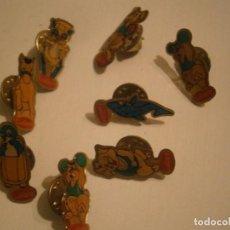 Pins de colección: SUPER LOTE DE 8 PINS AÑOS 90 FIGURAS'' CUETARA¡¡ UNICOS EN TC¡¡. Lote 229772285