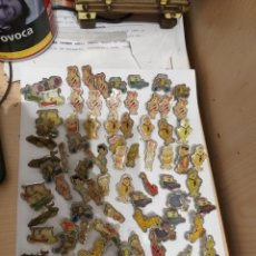 Pins de colección: LOTE PIN FAMILIA PICA PIEDRA 89 UNIDADES. Lote 229844250