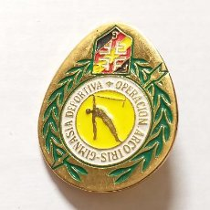 Pins de colección: INSIGNIA. GIMNASIA DEPORTIVA. OPERACIÓN ARCOIRIS. ALFILER. Lote 230032305