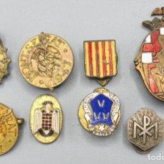 Pins de colección: COLECCION DE 8 PINS. METAL ESMALTADO. VARIAS TEMÁTICAS. AÑOS 30/40.. Lote 230315955