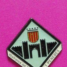 Spille di collezione: PIN ESCUDO VILAFRANCA DE PENEDÈS. Lote 230461960