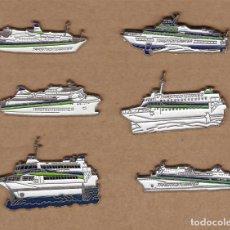 Pins de colección: TRASMEDITERRANEA COLECCIÓN DE PINS. PIN, PINES.. Lote 230877905