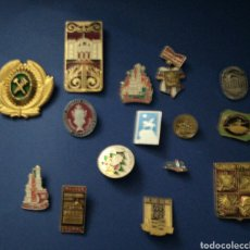 Pins de colección: COLECCIÓN DE 15 PIN RUSOS AÑOS 70/80.. Lote 231260645
