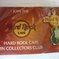 Pin's de collection: PINS GUITARRA HARD ROCK CAFE. Lote 231676930