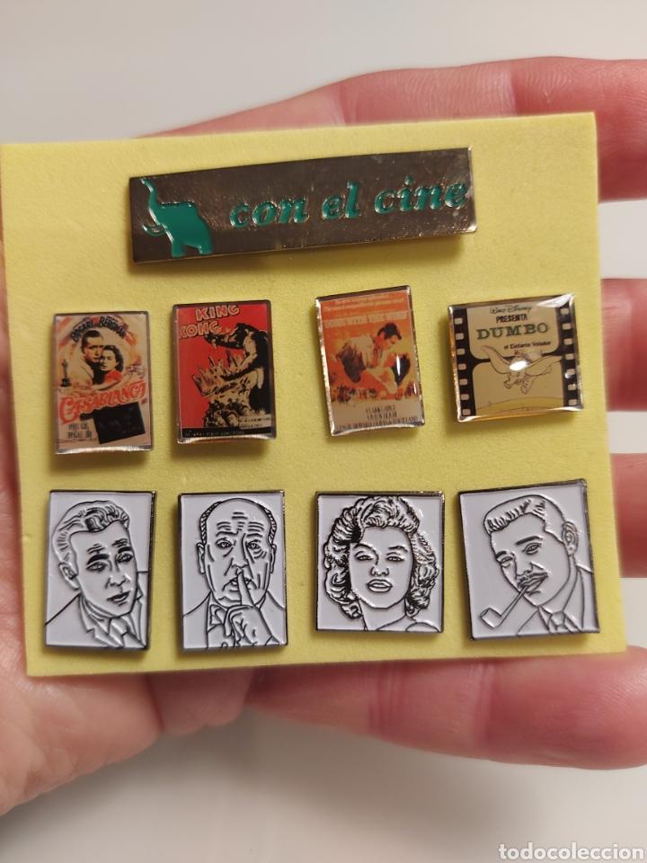 9 PINS COLECCIÓN CINE (Coleccionismo - Pins)