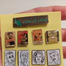 Pins de colección: 9 PINS COLECCIÓN CINE. Lote 232986835