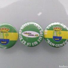 Pins de colección: 3 CHAPA/PIN DEL PUEBLO DE COLINDRES.. Lote 212087175